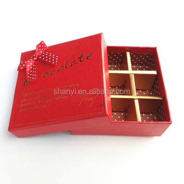 Mountain Custom acrylic chocolate empty box for chocolate