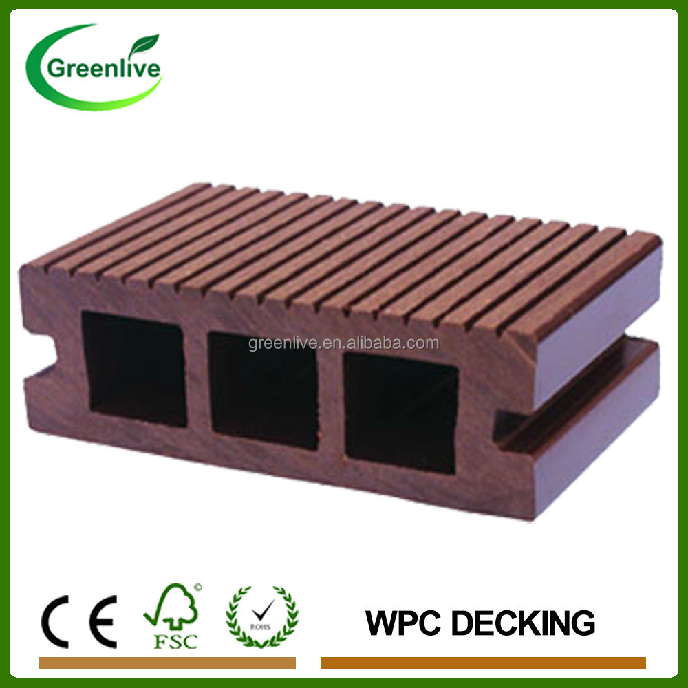 Cheap price eco friendly outdoor wood plastic composite for Cheap composite decking