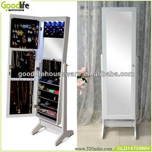 Fashion mirror jewelry cabinet target