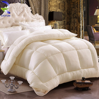 Customized cheap and comfortable peach colored comforter sets