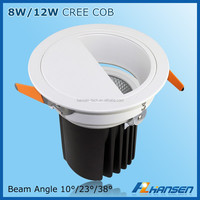 High quality 5W led lights drop ceiling recessed