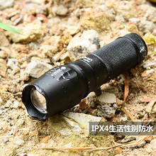 Adjustable Focus cree xpe Bulb tactical led flashlight,police torch,Zoom led flash light