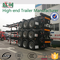 2015 China 20ft container chassis for sale