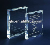 crystal trophies for sale crystal book with 24 dint k9 crystal