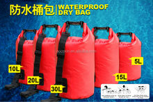 Eco-friendly waterproof tarpaulin dry bag backpack
