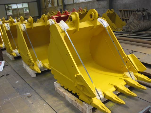 High quality excavator bucket with high strength excavator bucket teeth for selling