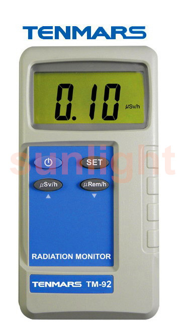 Beta/Gamma/X-ray Monitor Nuclear Radiation Monitor, TM-92