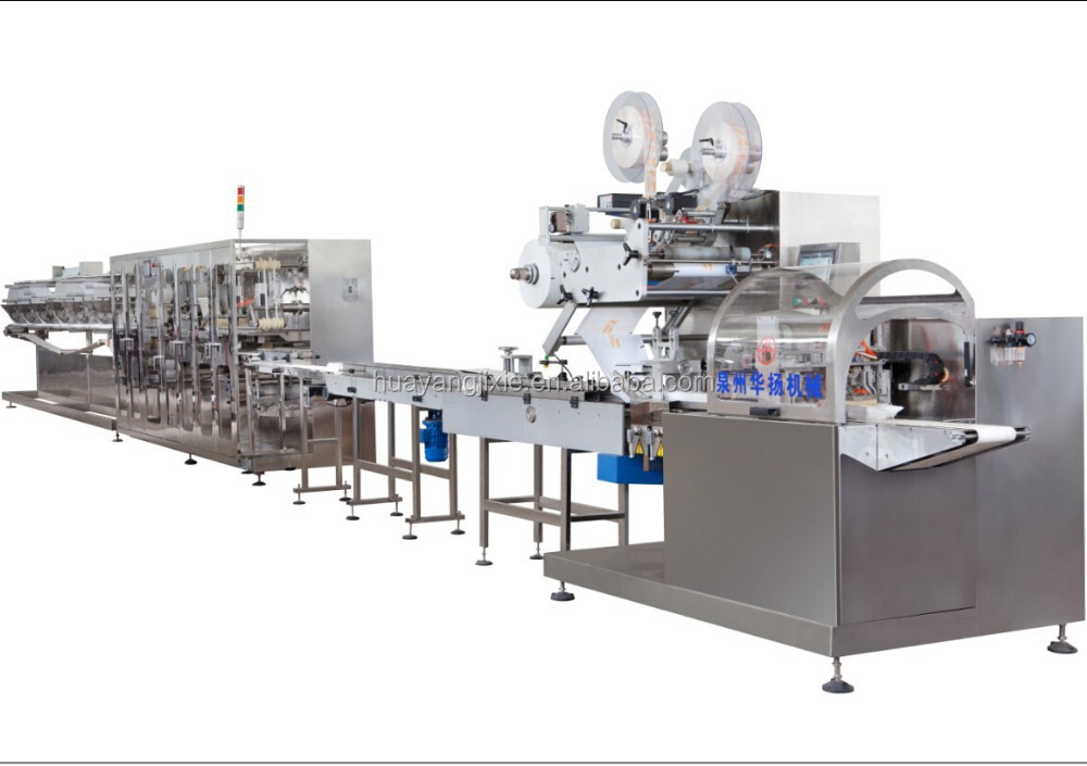 Automatically Baby Wet Wipes manufacturing machine, wet tissue making machine