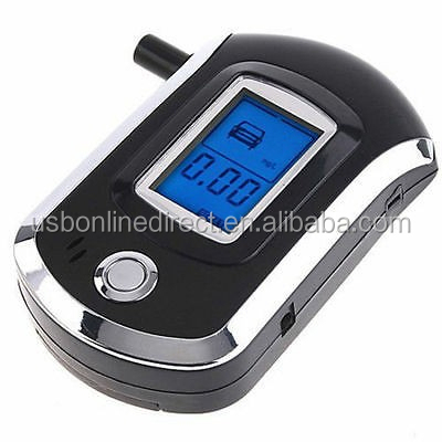 Digital alcohol breath tester breathalyzer alcohol tester LCD display drive safety digital alcohol tester
