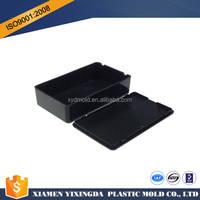OEM Black ABS molded plastic electronic enclosure