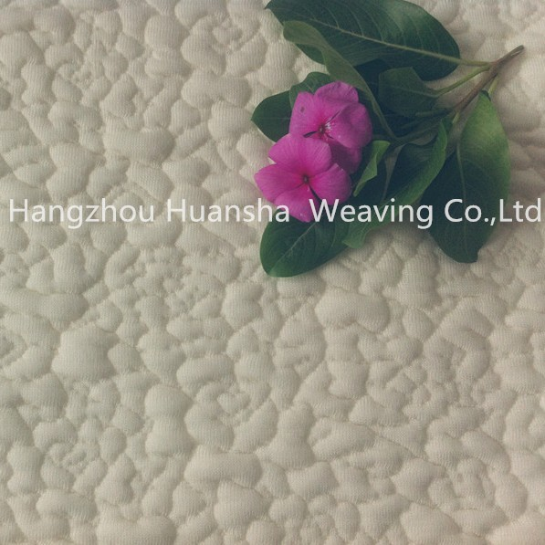 2015 heavy weight spandex jacquard knitting mattress fabric