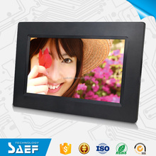 "Cheapest gift 7"" digital photo frame wholesale"