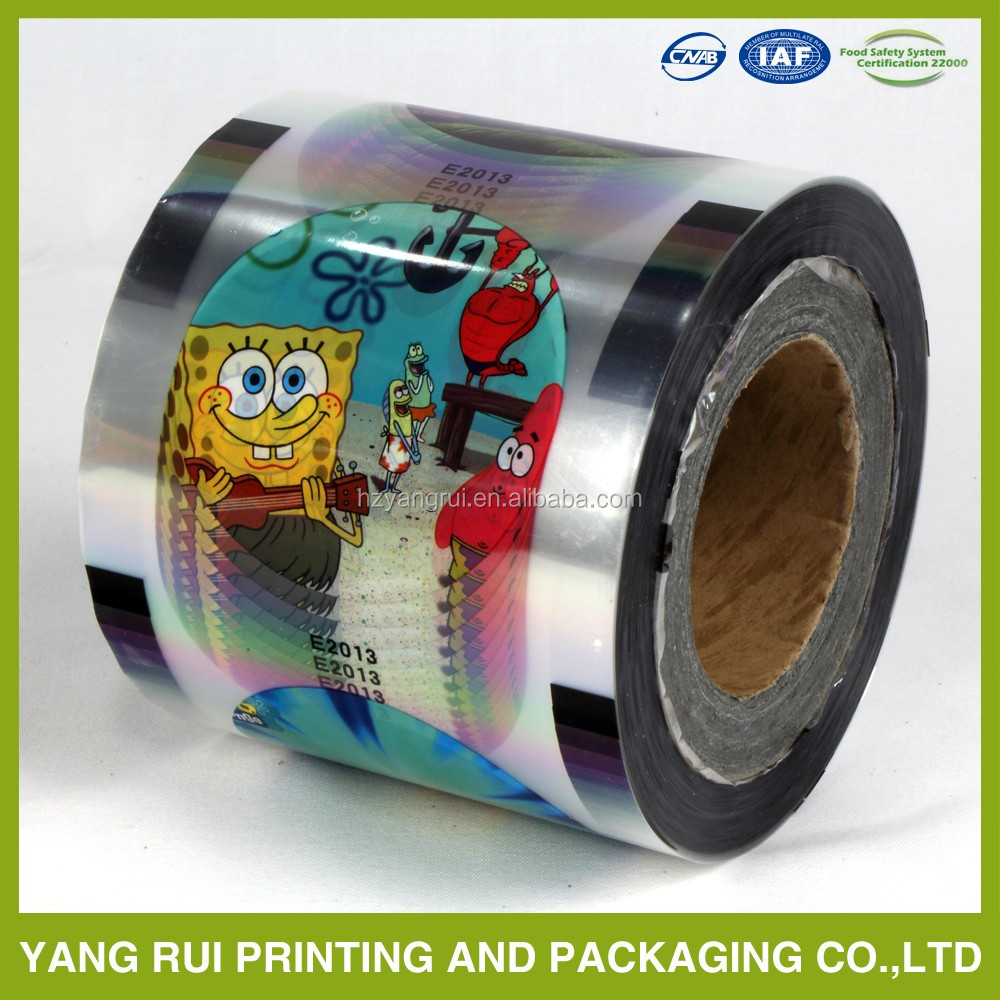 2016 China Supplier plastic cup lid sealing film