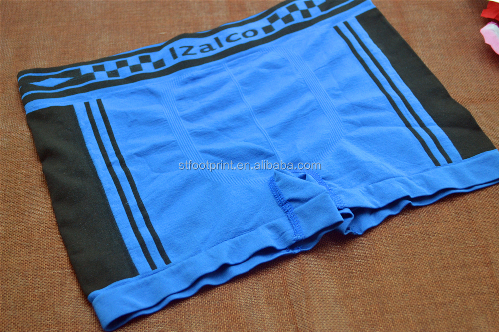 Sexy seamless underwear boxer shorts briefs for men