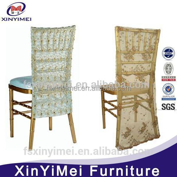 cheap price lace chair covers sashes factory price