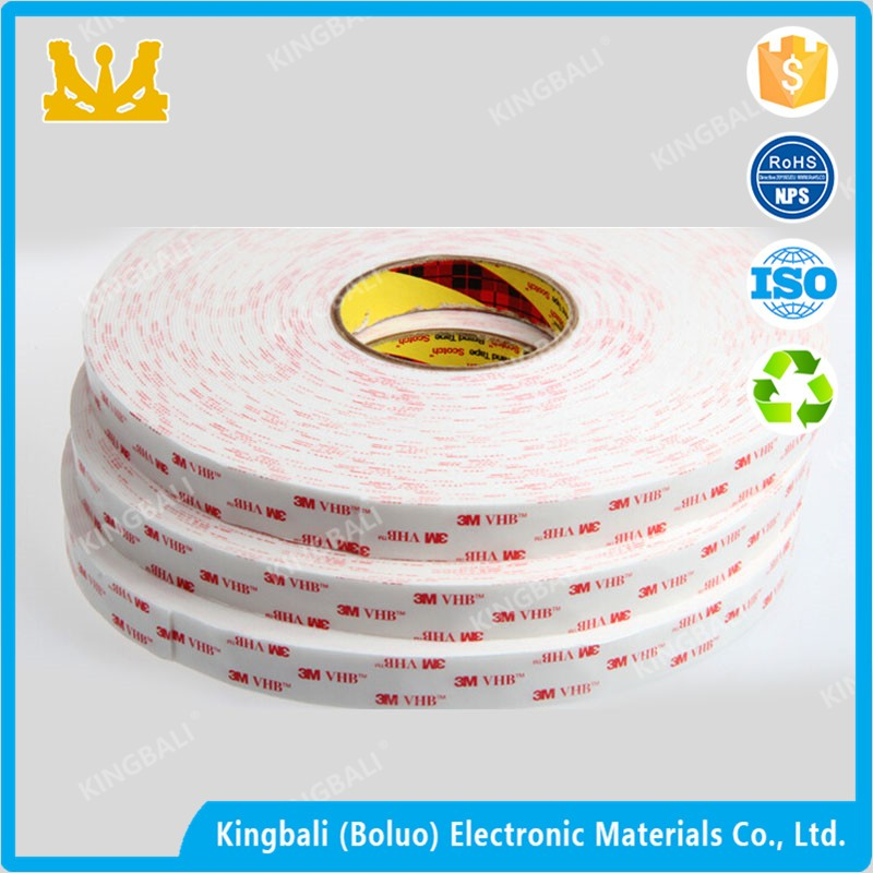 3m scotch arcylic adhesive waterproof permanent foam tape 3m4926 for Smootth surface