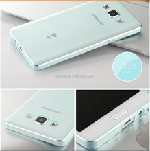 0.5mm ultra-thin transparent colorfull tpu case for samsung galaxy note 5 edge cell phone case