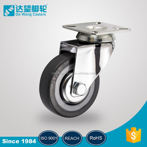 125mm Shopping Trolleys & Carts Caster TPR wheel
