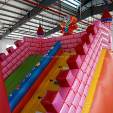 Clearance and big exciting inflatable slide inflatable water slide