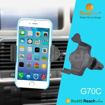 Car accessories for universal car mount air vent holder smartphone holder