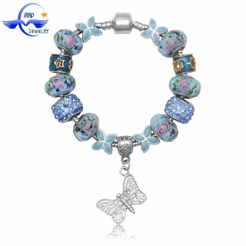 Wholesale european charm bracelet beaded infinity bracelet wholesale