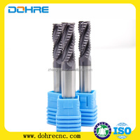 Longer life ! Dohre ZHY CTX 3/4 flutes roughing end mills