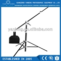 Hottest selling multi-function heavy duty portable air cushion light stand with inclined boom