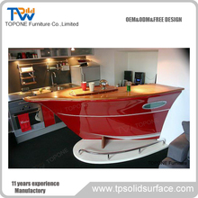 boat shaped bar counter for sale