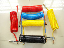 trailer air brake reinforced hose/air brake coil with double layer