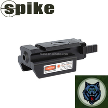 Spike Tactical Compact Pistol Rail Red Laser Sight 20mm Picatinny- Weaver Rail