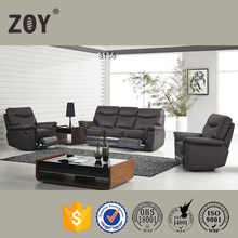 Genuine Leather Fabric Reclining Loveseat Sofa & Office Sofa Pictures Zoy-81360
