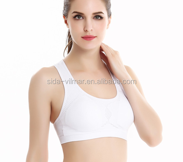 Custom Made Breathable Sports Bra,Women Contrast Gym Bra ...