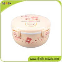 3 combination Plastic Lunch food Containers for Lover Family kindergarten