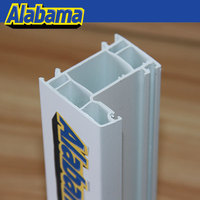alabama brand long working life single glazing bead upvc
