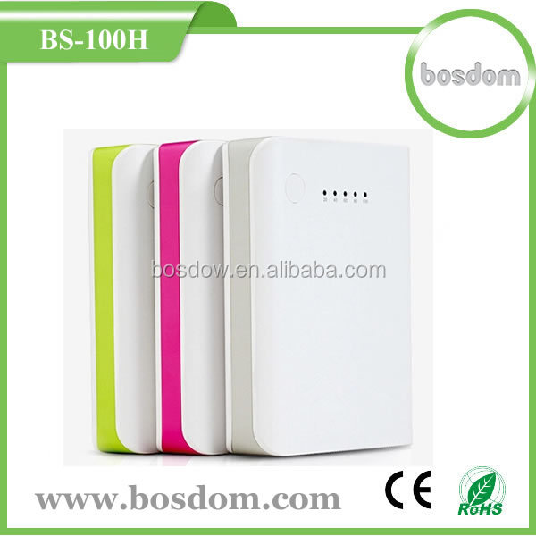 BS-100H 2015 new design 10400mah external portable power bank best toys for 2015 christmas gift
