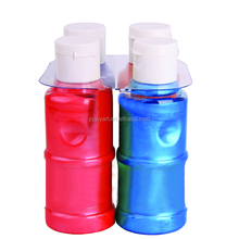 4 opaque colors factory cost-effective acrylic leather paint 120ML