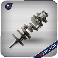 Customized OE 13400-3110 Crankshaft For Hino EF750 8Cy Forging or Casting Iron Crankshaft