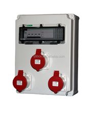 Plastic Industrial power Combination Socket Box Distribution Boxes electrical Industrial socket & plug coupler