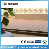 Reasonable price and high quality wpc flooring outdoor/plastic composite decking for sale