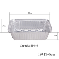 food packaging aluminum foil/disposable inflight aluminum foil container/Lunch box