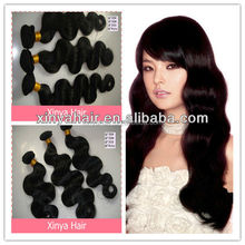 Top quality natural color 100% virgin remy Chinese human hair