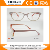 Bulk wholesale fashion optical frame korea acetate spectacles frames China