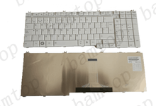 2017 Amazon Hot selling Teclado Para Laptop For Toshiba A500 Spanish Layout