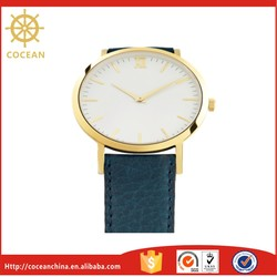 China Wholesalers Gold Plated Silver Jewelry Cect Wrist Watch