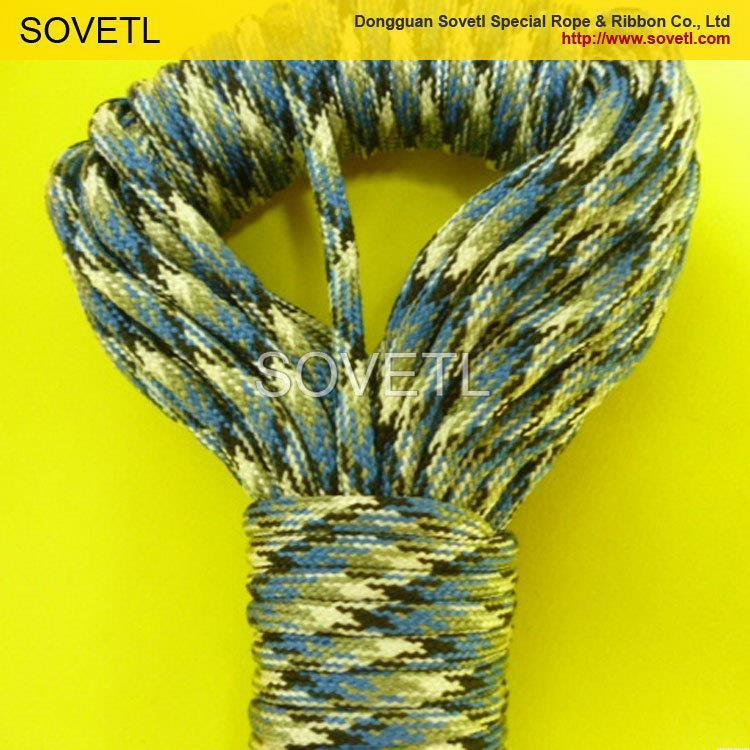 Top grade hot sale round polyester plastic rope twine