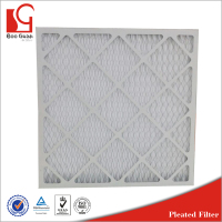 paper frame pleated furnace home filters for hvac system