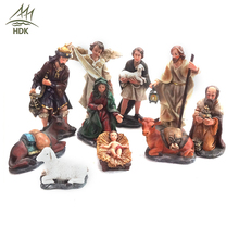12 inch decoration Jesus Birth Christmas nativity scene sets