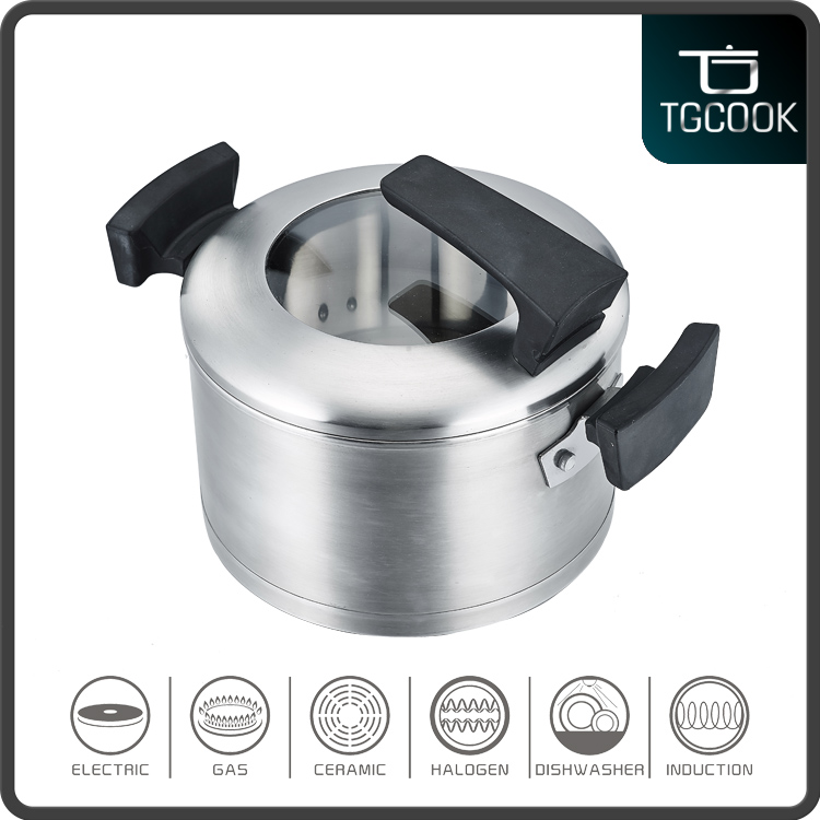 2016 hot sale new style stainless steel mini cooking pot cookware set with bakelite handle and strong quality