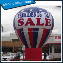Grand openning inflatable rooftop balloon for outdoor promotion