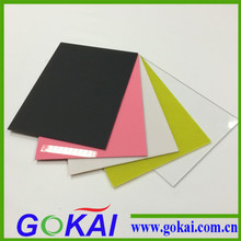 2016 cast acrylic sheet colored decoration 3mm luminescent acrylic sheet